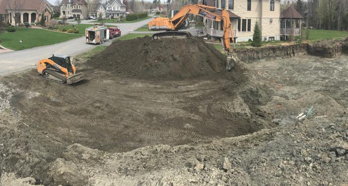 excavation Gatineau