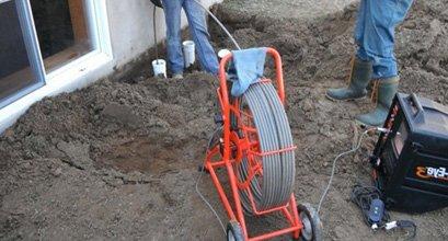 Service - Inspection de drain par caméra