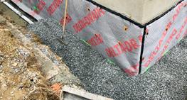 Réparation de fissures et fondations